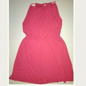 Old Navy coral casual dress